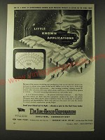 1943 DeJur-Amsco Corporation Eletronic Voltmeter Ohmmeter Ad - Little known
