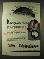 1943 DeJur-Amsco Corporation Ad - Keeping them open