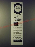 1943 Meissner Align-Aire Trimmers Ad - Improved.. Low loss align-aire trimmer