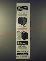 1943 Acme Power or Filament Transformers Ad - Electronic transformers