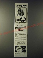 1943 Clarostat Series 37 Controls Ad - With the new stabilized element