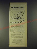 1958 London County Council Industrial Centre Ad - There is space for growing