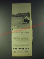 1958 The Standard Life Assurance Company Ad - provide for Retirement