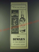 1958 Dewar's Scotch Ad - Times may change