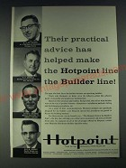1958 Hotpoint Appliances Ad - Their practical advice has helped