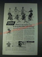 1958 Exercycle Corporation Ad - There's no easier way to keep fit, trim