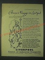 1958 Liverpool Centre of Industrial Prosperity Ad - Bane Nagge in Liv'pul