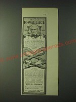 1900 1835 R. Wallace Silverware Ad - The Announcement