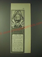 1900 1835 R. Wallace Silverware Ad - Every Cloud