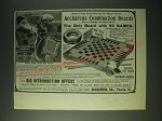 1900 Archarena Combination Boards Ad - Santa Claus best gift for the home circle