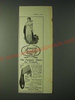 1900 Thomas G. Plant Queen Quality Shoes Ad - Famous Shoes for Women