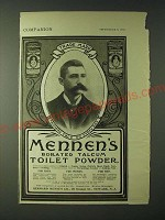 1900 Mennen's Borated Talcum Toilet Powder Ad