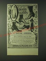 1900 Thomas G. Plant Queen Quality Shoes Ad - Byke Boot, Southern Button