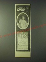 1900 Mellin's Food Ad - A Mellin's Food Baby