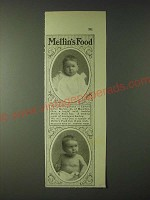 1900 Mellin's Food Ad - Edward Carter Merwin, Jr.