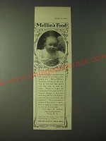 1900 Mellin's Food Ad - Mellin's Food Boy