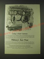 1900 Pillsbury's Best Flour Ad - Losing a good customer