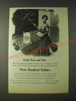 1900 Pillsbury's Best Flour Ad - Bright Boys and Girls