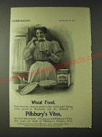 1900 Pillsbury's Vitos Wheat Food Ad - Wheat Food