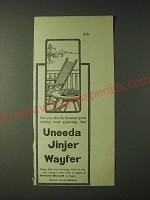 1900 National Biscuit Company Uneeda Jinjer Wayfer Ad - You can offer