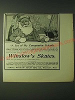 1900 Winslow Skates Ad - A lot of my companion friends