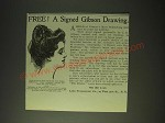 1900 Life Publishing Co. Ad - A Gibson drawing
