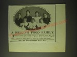 1900 Mellin's Food Ad - A Mellin's Food Family
