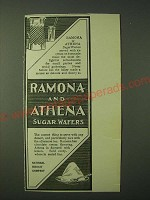 1900 National Biscuit Company Nabisco Ramona and Athena Sugar Wafers Ad