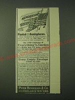 1900 Peter Henderson & Co. Tested Seeds Ad - Planted in both Hemispheres