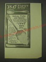 1900 1847 Rogers Bros. Knives, Forks and Spoons Ad