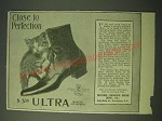 1900 Moore-Shafer Ultra Shoe Ad - Close to perfection