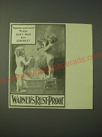 1900 Warner's Rust-Proof Corsets Ad - Mamma won't care! Water can't hurt