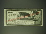 1900 Franklin Mills Wheatlet Ad