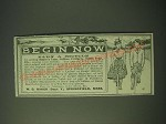 1900 W.G. Baker Baker's Teas, Coffees, extracts, toilet soap Ad - Begin Now