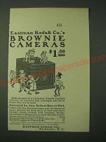 1900 Eastman Kodak Brownie Cameras Ad
