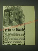 1900 Franklin Mills Wheatlet Ad - Yours for Health