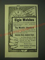 1900 Elgin Watches Ad - Elgin Watches possess every desirable modern improvement