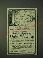 1900 Elgin Watches Ad - Day and night