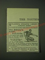 1900 A.G. Spalding Athletic Library Ad - The Athlete's Guide