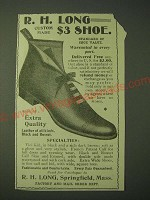 1900 R.H. Long Shoes Ad