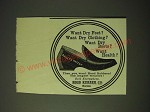 1900 Hood Rubber Co. Shoes Ad - Want dry feet?