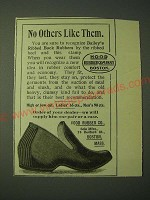 1900 Hood Rubber Co. Bailey's Ribbed Back Rubbers Ad - No others like them