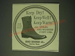 1900 Hood Rubber Co. Shoes Ad - Keep dry! Keep Well! Keep Warm!