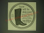 1900 Hood Rubber Co. Boots Ad - Snow will be deep soon