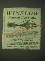 1900 Samuel Winslow National Club Skate Ad