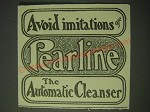 1900 Pearline Detergent Ad - Avoid imitations of Pearline