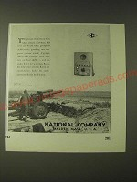 1943 National Company Inc.  Ad - This picture might have been taken