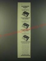 1959 Sobranie Virginia No. 40 Cigarettes Ad - Knowledgeable nephews give