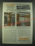 1959 Anaconda Copper Tube and Fittings Ad - All-copper plumbing chosen
