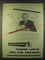 1959 Standard Motor Company Ad - Standard power units are the answer